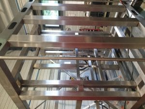 chassis polissage inox 4j chaudronnerie