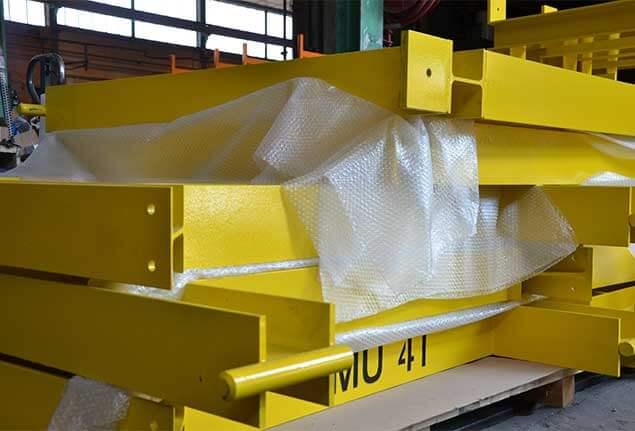 4J Chaudronnerie - Structure métallique pour plateforme.